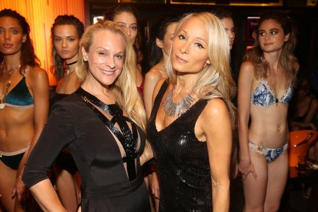 The Untitled Magazine NYFW LadyShip Swim Presentation + Party at The Dominick Hotel Hosted by Lady Victoria Hervey & Indira Cesarine