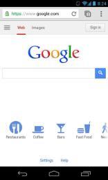 Bei einer weißlastigen Website wie Google kann das Wunder bewirken, …