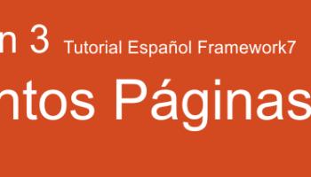 ▷ Framework7 v2 - Componente de Rutas - Daniel Riera