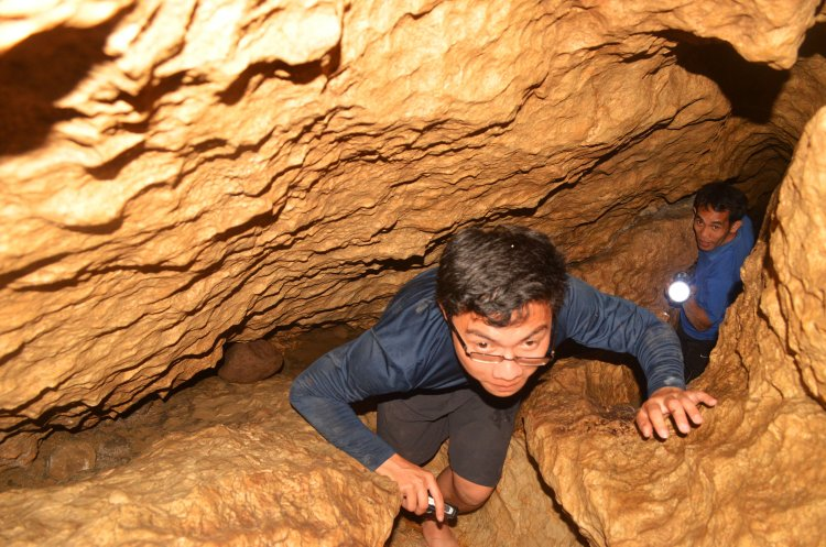 Longog Cave in Kapangan, Benguet.