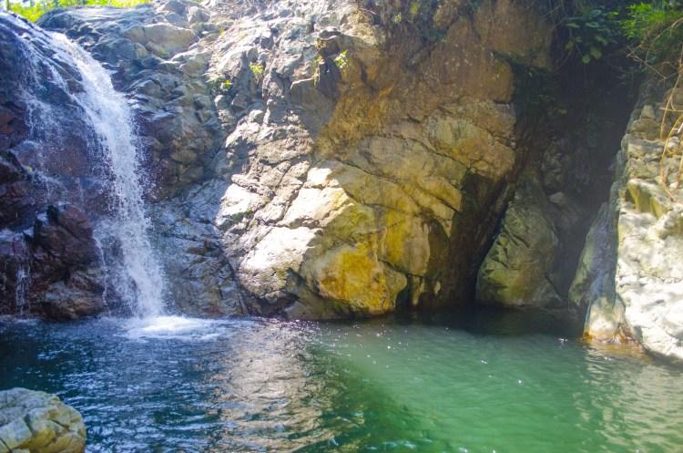 Binanga Falls of Shilan, La Trinidad.