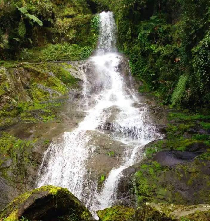 Pikhu falls of Mayoyao. One of the tourist spots of Ifugao.