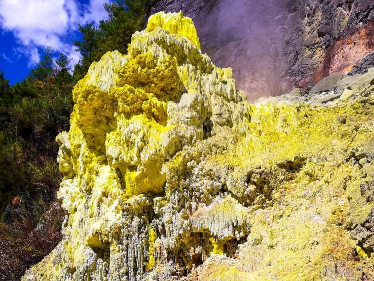 Sulfur Hills in Kalinga is one of the off-beaten tourist destinations in the Philippines