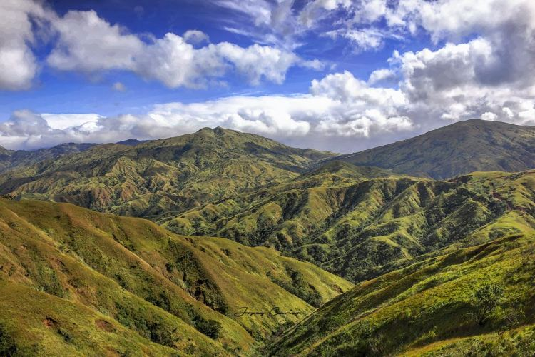 Apao Rolling Hills. One of the tourist spots of Abra.