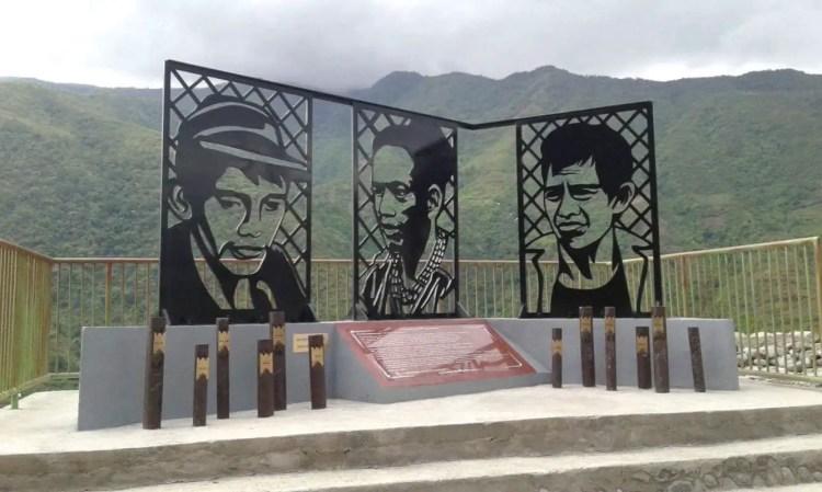 Dulag Historical Marker, Bugnay, Kalinga. One of the tourist spots of Kalinga.
