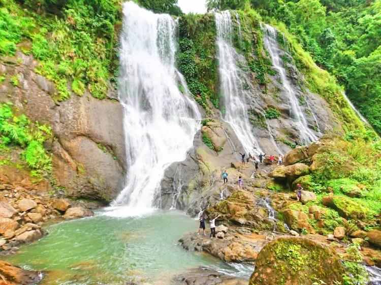 Badi Falls. One of the tourist spots in Kapangan, Benguet.