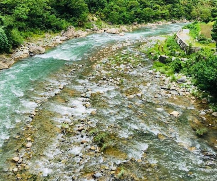Amburayan River is one of the largest rivers in the Philippines