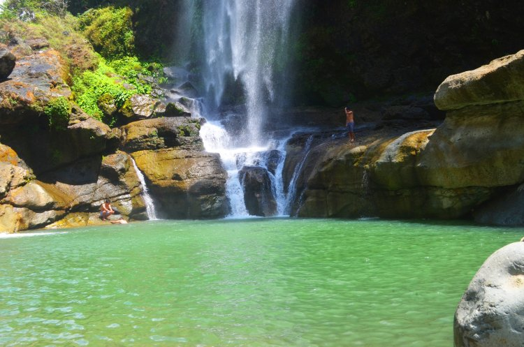 Such a deep pool of Bomod-ok falls in Sagada, Mountain Province.