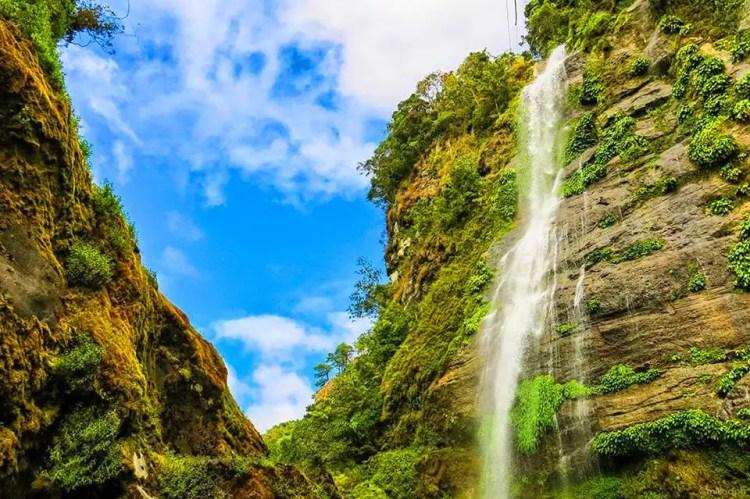 Bomod-ok Falls. One of the tourist spots in Sagada.