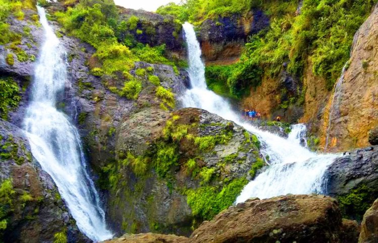 Pongas Falls in Sagada. One of the waterfalls in Mountain Province.