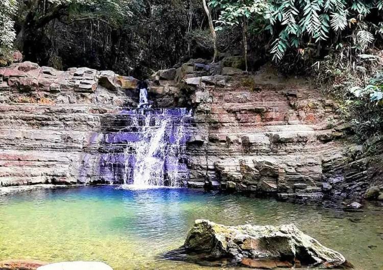 Occalong Falls is one of the tourist spots in San Fernando La Union.