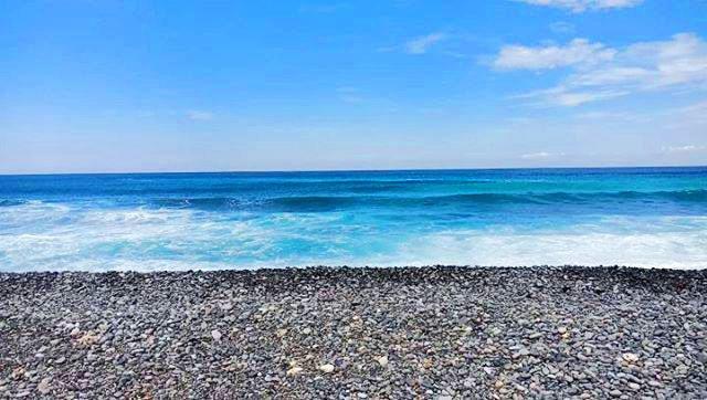Pebble Beach is one of the tourist spots in La Union.