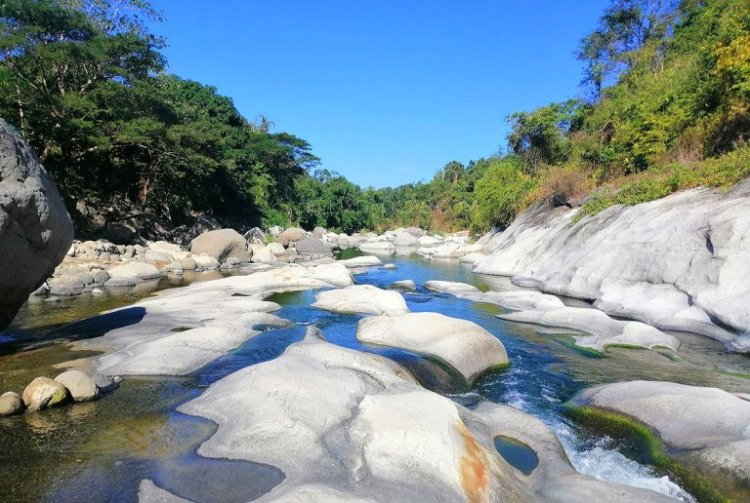 Tapuakan River is one of the tourist spots in La Union.