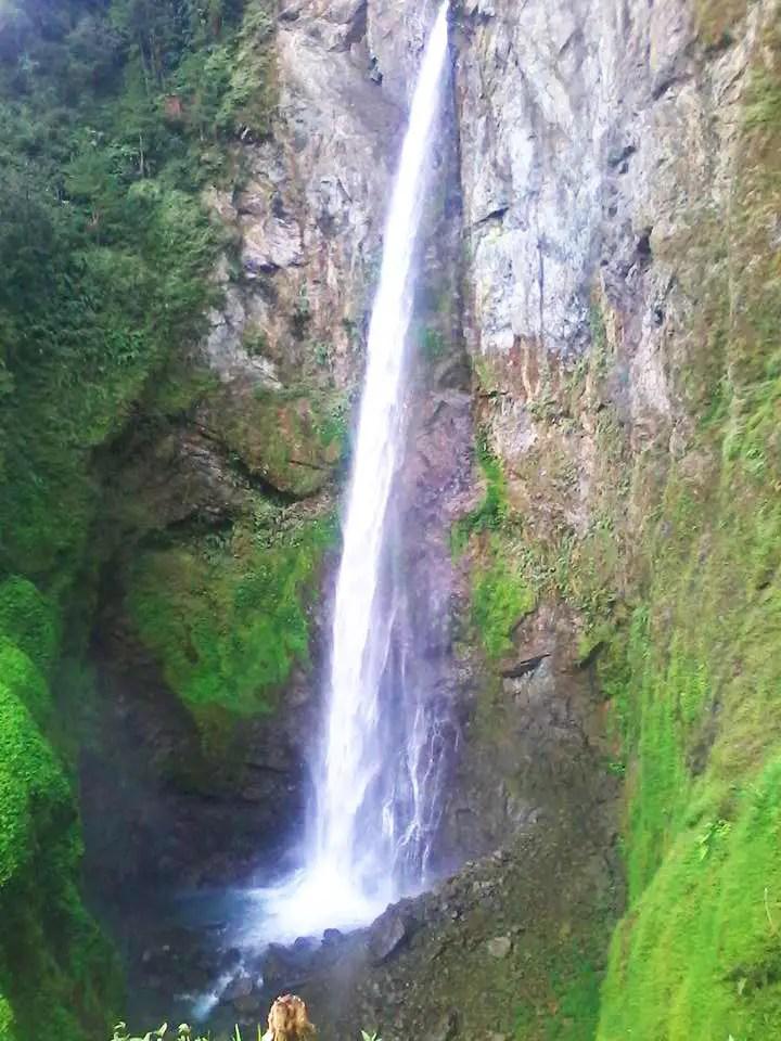 Dumliing falls is one of the tourist spots in Nueva Vizcaya,