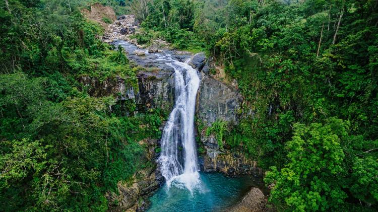 Mactol falls is one of the tourist spots in Quirino province.