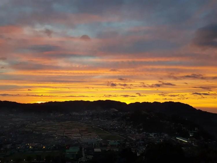 Mt Kalugong Sunset