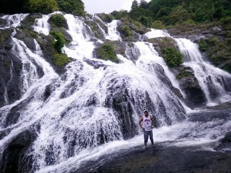 Tarangban Falls is one of the tourist spots in Samar Island.