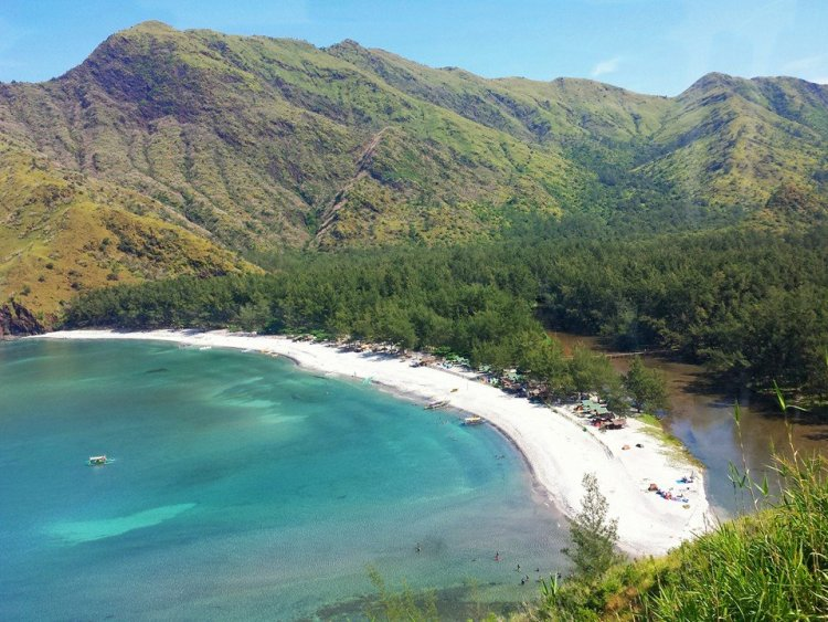 Anawangin Cove is one of Zambales tourist spots
