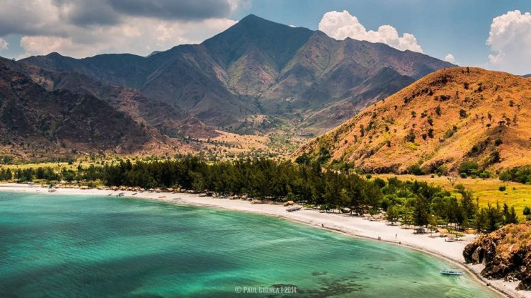 Nagasa Cove is one of the tourist spots in Zambales