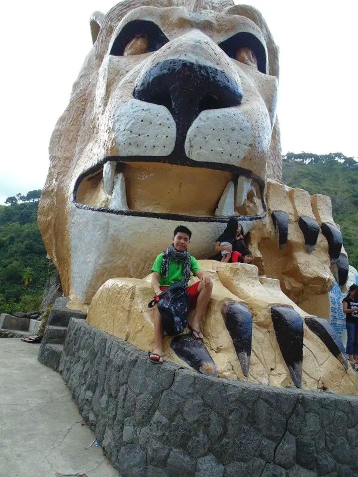 Older view of Lions Head Baguio.