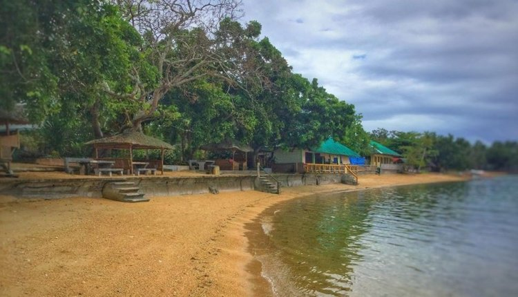 Agta Beach Resort is one of the tourist spots in Biliran Island.