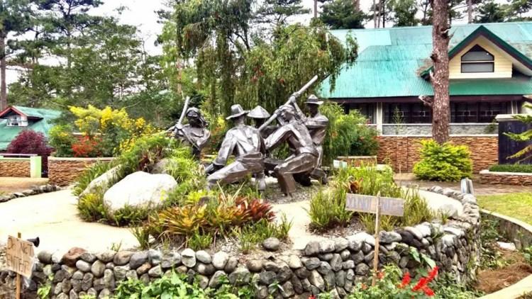 Centennial Park in Botanical Garden Baguio