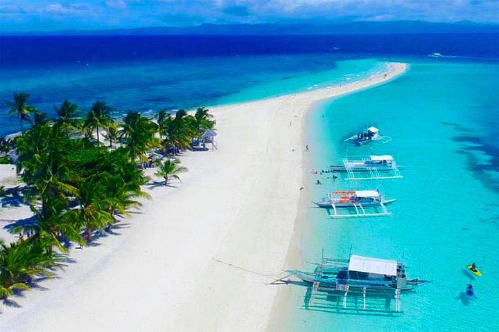 Kalanggaman Island is one of the most pristine of Leyte tourist spots.
