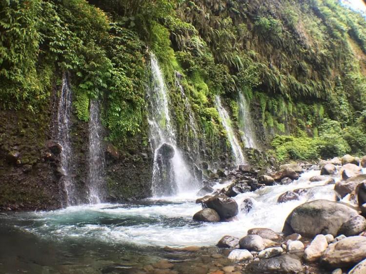 Mini Asik Asik Falls is one of Davao Del Sur tourist spots