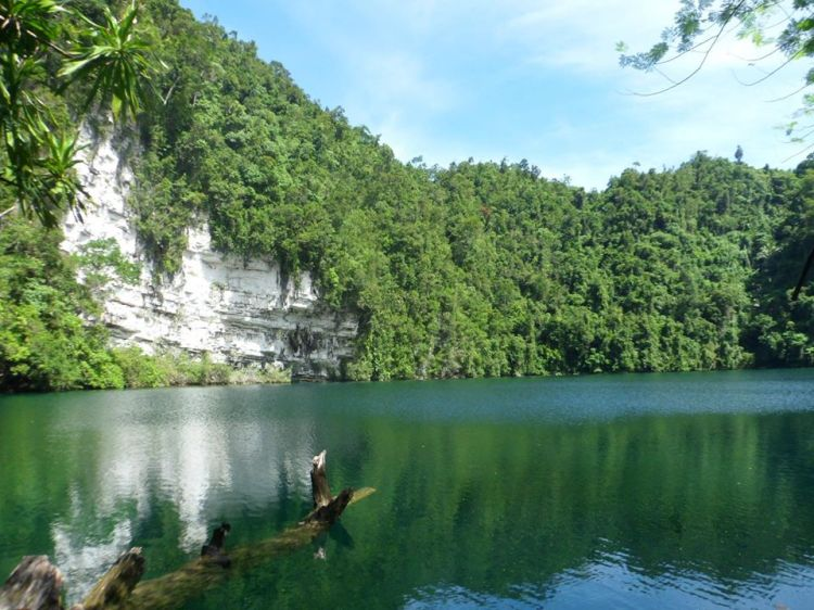 Lake Bababu is one of the ecological Dinagat Island tourist spots.