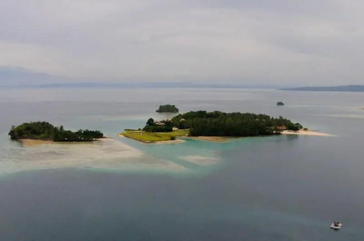 Malipano Island is one of Davao Del Norte tourist spots