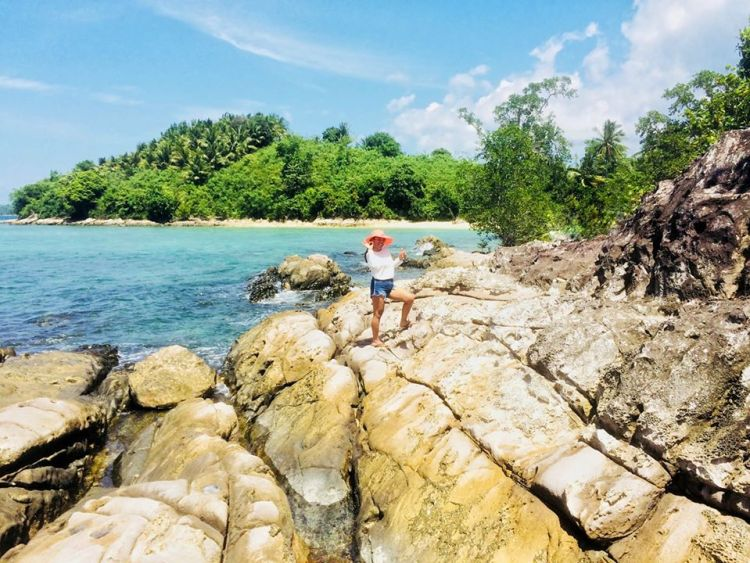Sirommon Island is one of Zamboanga Del Sur tourist spots