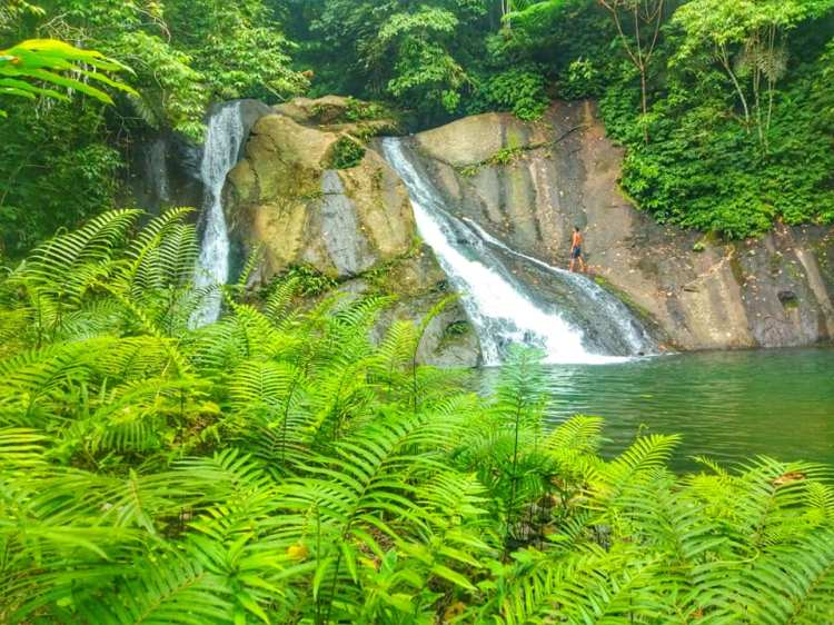 Nalus Falls is one of the best Sarangani tourist spots