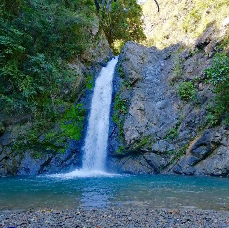 Aloha Falls is one of the tourist spots in Nueva Ecija.