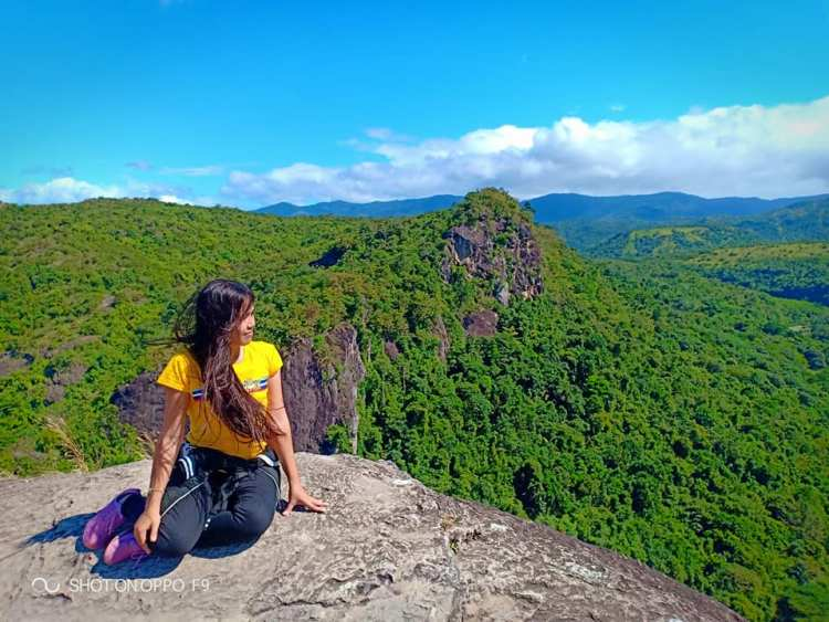 Mt Manalmon is one of the tourist spots in Bulacan.