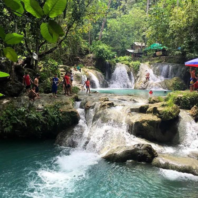 Hagimit Falls is one of Davao Del Norte tourist spots