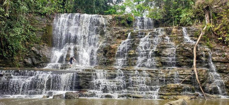 Merloquet Falls is one of Zamboanga Del Sur tourist spots
