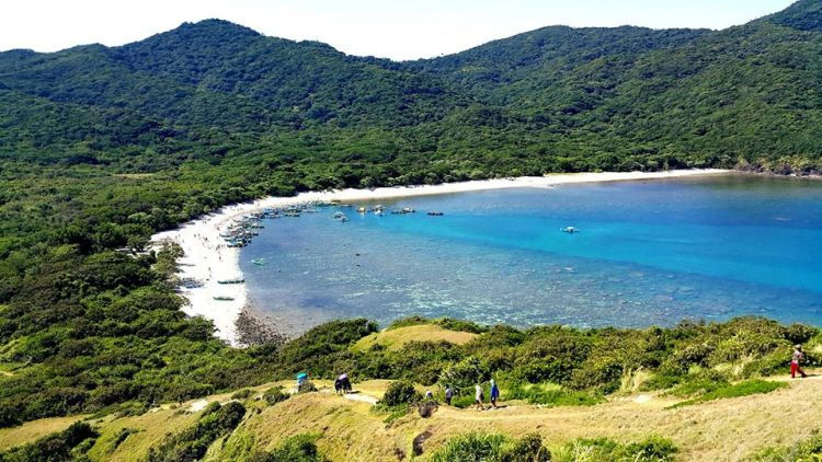 Palaui Island is one of Cagayan valley tourist spots
