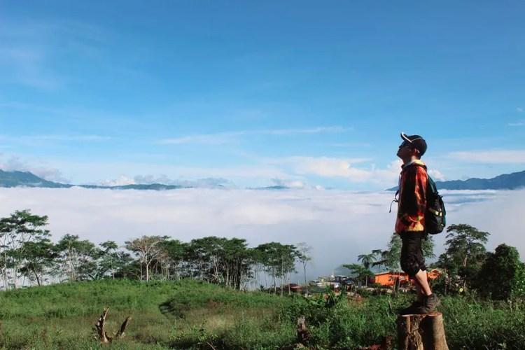Fabian's Peak is one of Davao De Oro tourist spots