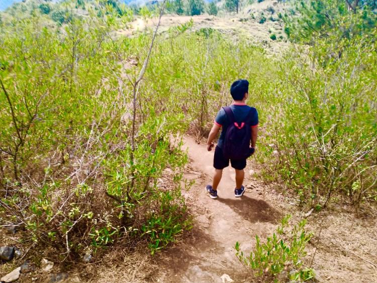Hardcore trail to Blue Soil Sagada