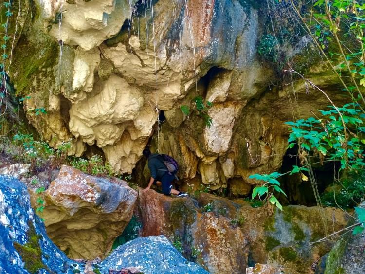 Stunning rock formations near Sagada Underground River