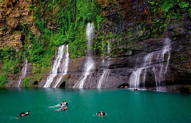 Sagpulon Falls is one of the most beautiful places in Mindanao