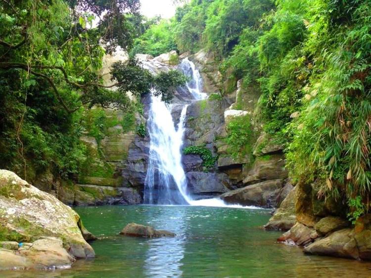 Behold Towing Falls in Sablan, Benguet