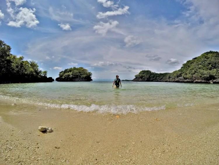 Taklong Island is one of the best guimaras tourist spot