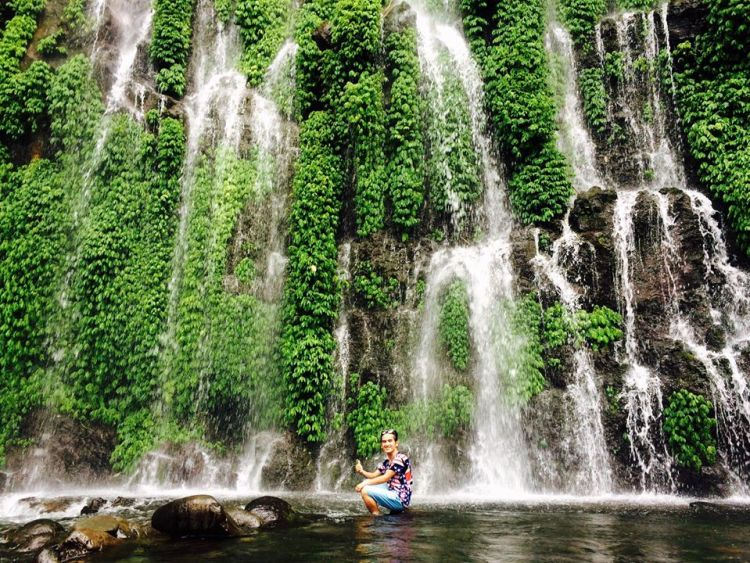 Asik-asik falls is one of the popular tourist spots in Mindanao