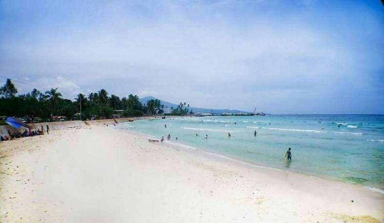 Maubo Beach is one of the best Sulu tourist spots/Sulu attractions