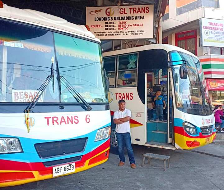 GL Trans bus is one of your options when travelling from Baguio to Sagada.