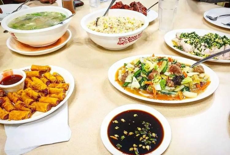 Sample meals at Good Taste Baguio or Good Taste Cafe and Restaurant
