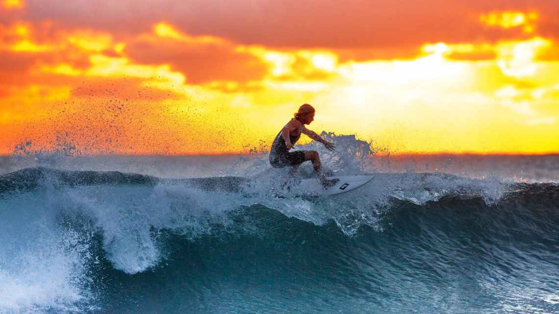 Surfing Oahu Hawaii