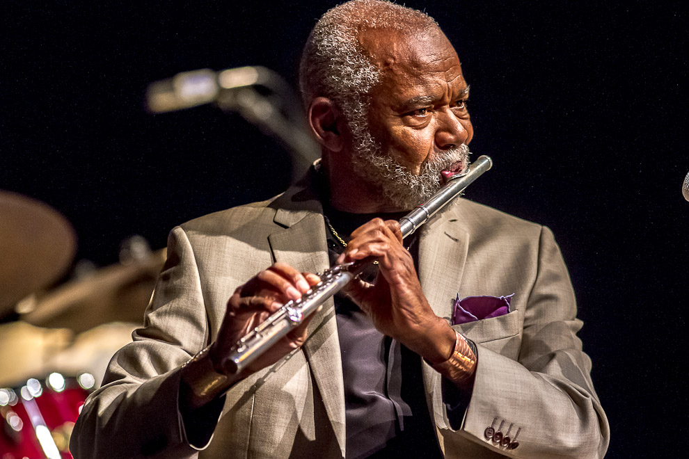 Hubert Laws Quintet at the Bellevue Jazz Festival Jazz Photography by Daniel Sheehan