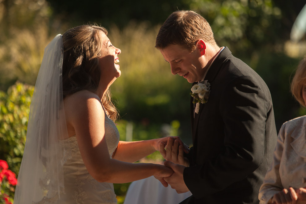Wedding Photographers in Woodinville at a Willows Lodge Wedding